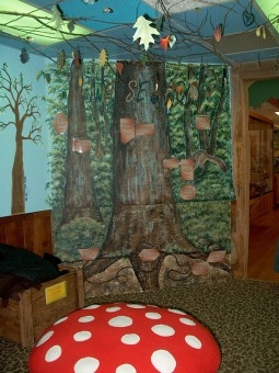 touch room forest